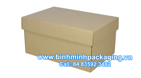 Corrugated Shoe Box – Kraft Brown