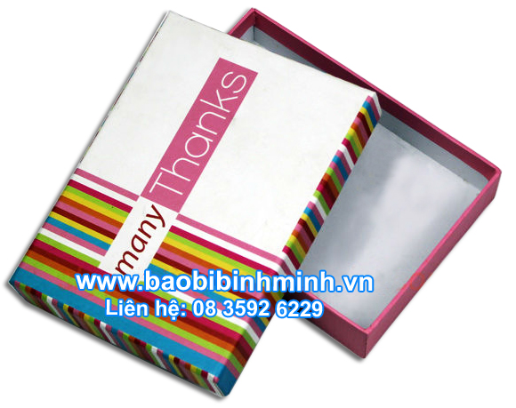 Paper Box 7 rainbow colors