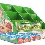 Knorr paper display shelves