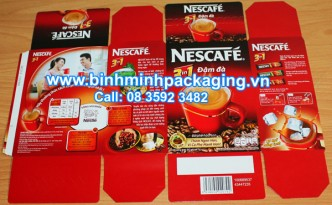 nescafe box