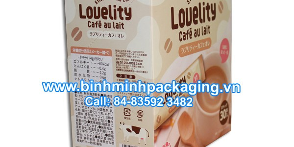 Lovelity COFFE PACKAGING BOXES