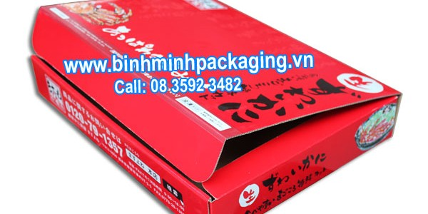 Seafood Packaging box