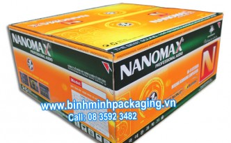 Karaoke Amplifier NANOMAX carton boxes