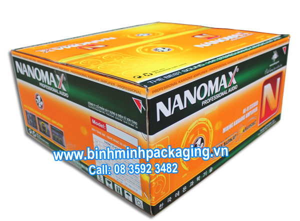 Carton boxes for NANOMAX Karaoke Amplifier