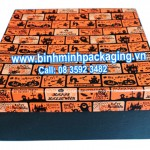 Paper box for gift in halloween festival