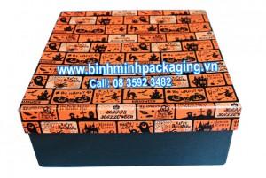 Paper gift box for halloween festival season