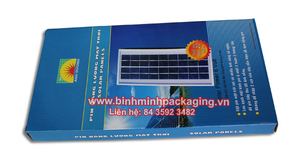 Solar Panels Packaging box