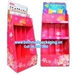 Beautyfair Paper display shelves 9 – 3,4 storey, type large