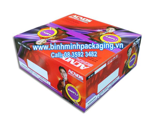 Amplifier ACNOS carton boxes of SONCAMEDIA