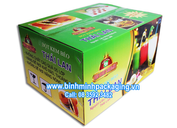 carton boxes printed offset for food