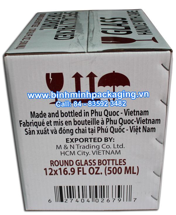 fish sauce carton boxes