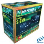 Corrugate carton box for NaNoMax S-925 Speakers Packaging