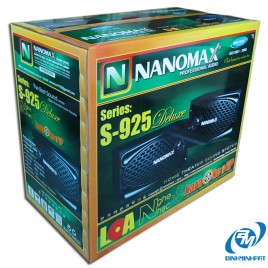 NaNoMax S-925 Speakers packing carton box