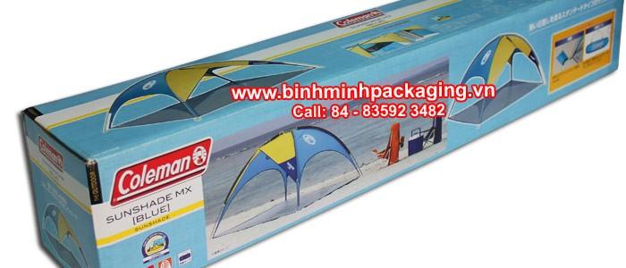 SunShade MX (Blue) Packaging carton box
