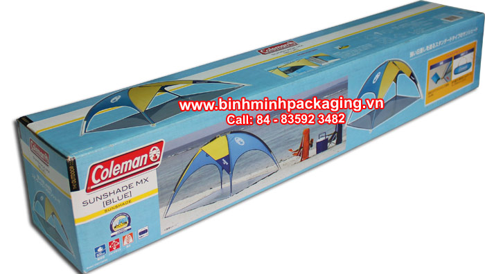 SunShade MX (Blue) Packaging carton box