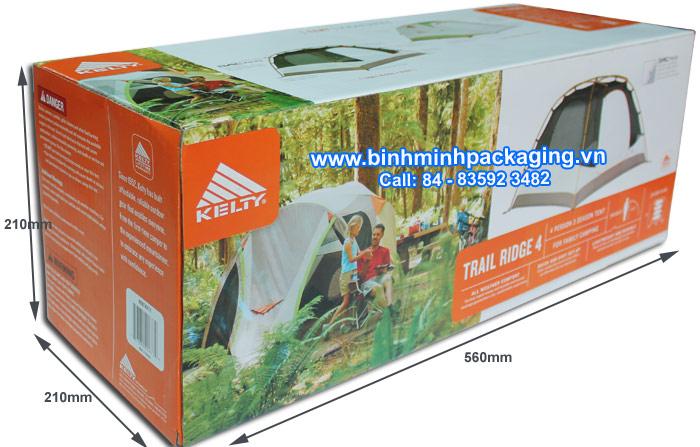 Specifications Kelty Trail Ridge 4 box