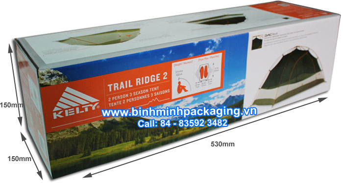 Specifications Shelters packing carton box