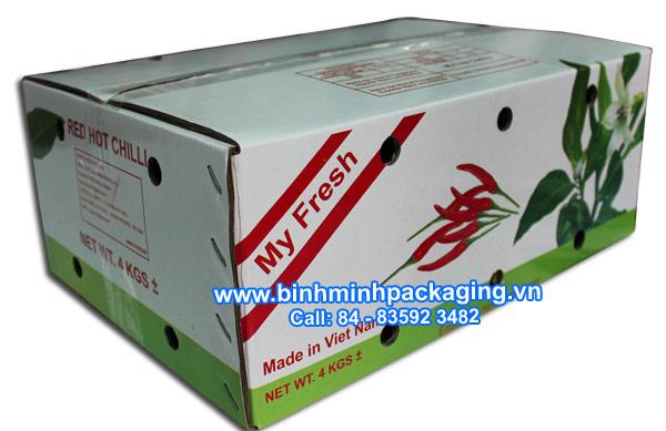 Carton box for Fresh food