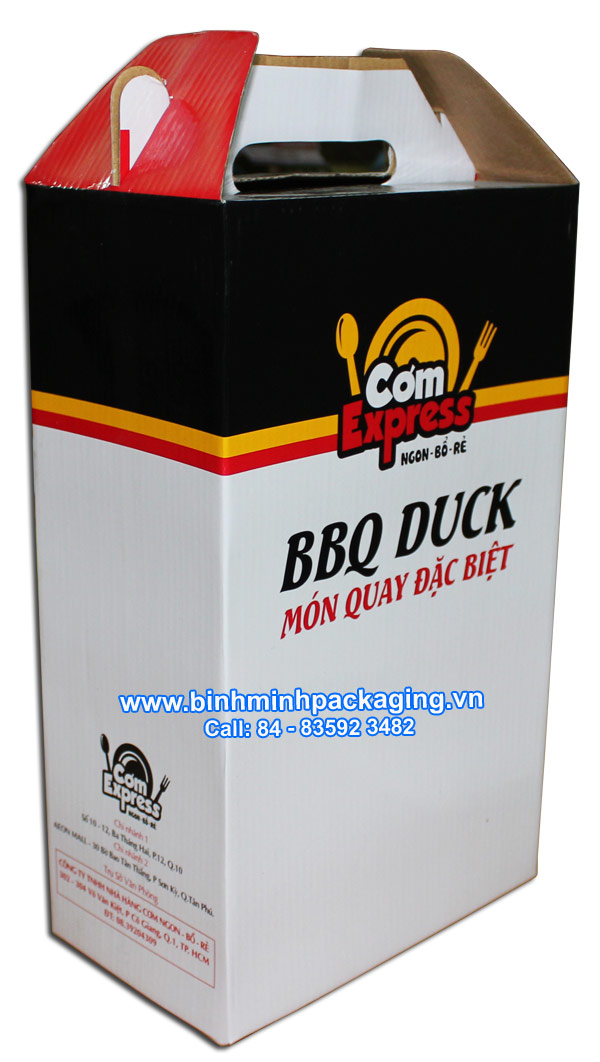 3-ply carton box for Roast duck