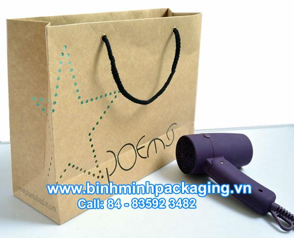 Printing kraft paper bags
