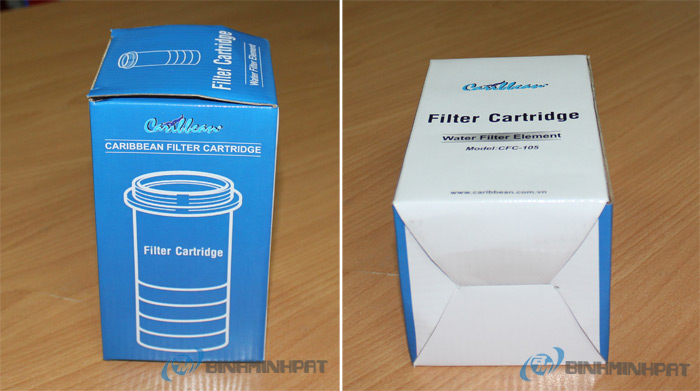 3 Ply Carton Box – Pure Water Filter Box With Offset Printing