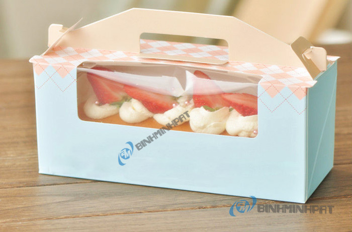 Cake Box By Corrugated Carton Paper Or Ivory Paper