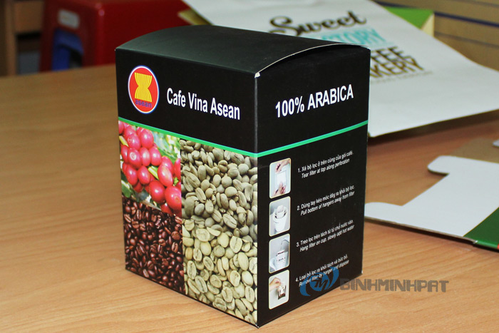 Offset Printing Paper Box For Coffee Industry