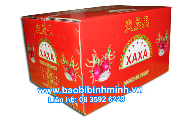 Waterproof Cartons For Export Packing Fruit