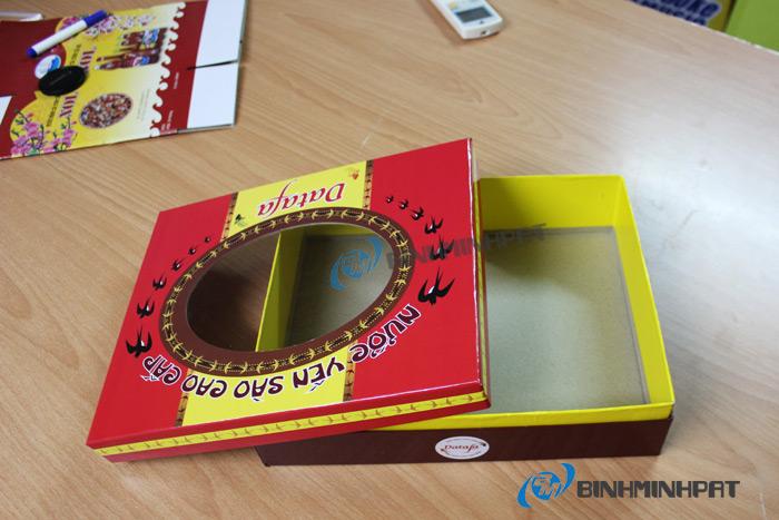 Natural Bird Nest Packaging Box 05