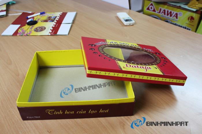 Natural Bird Nest Packaging Box 04