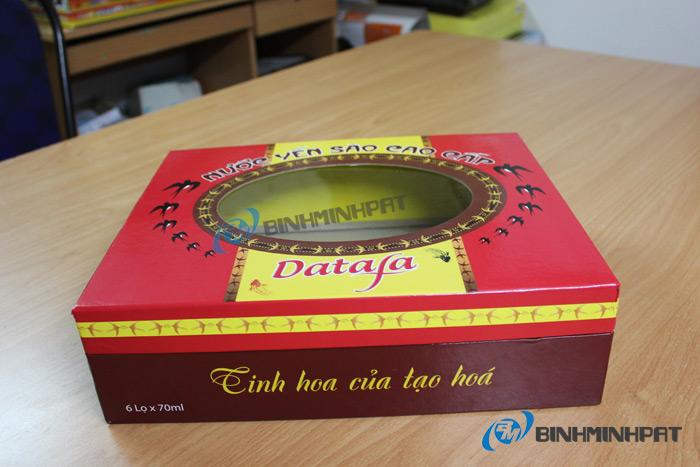 Natural Bird Nest Packaging Box 03