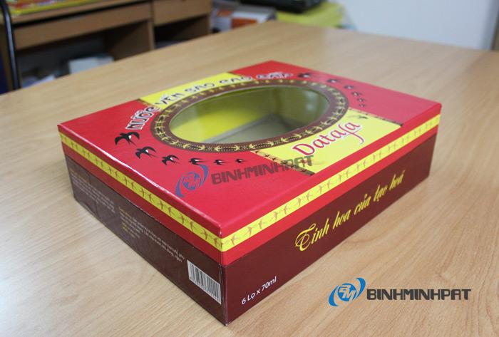 Natural Bird Nest Packaging Box 02