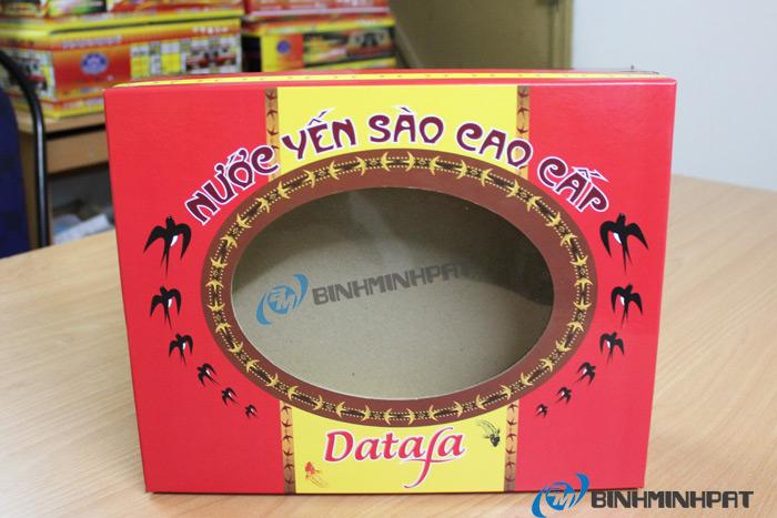 Natural Bird Nest Packaging Box 01