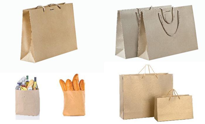 Printing kraft paper bags - img02