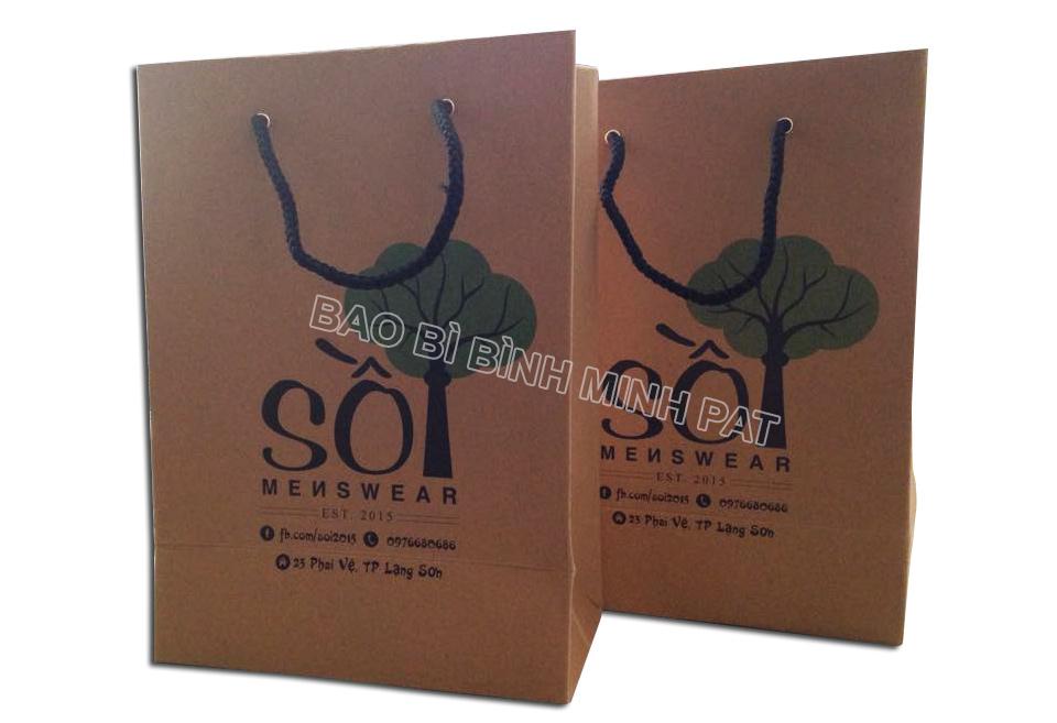 Printing kraft paper bags - img03