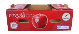 Hight quality Corrugated apple fruit packaging boxes - img01