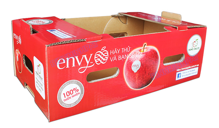 Hight quality Corrugated apple fruit packaging boxes - img02