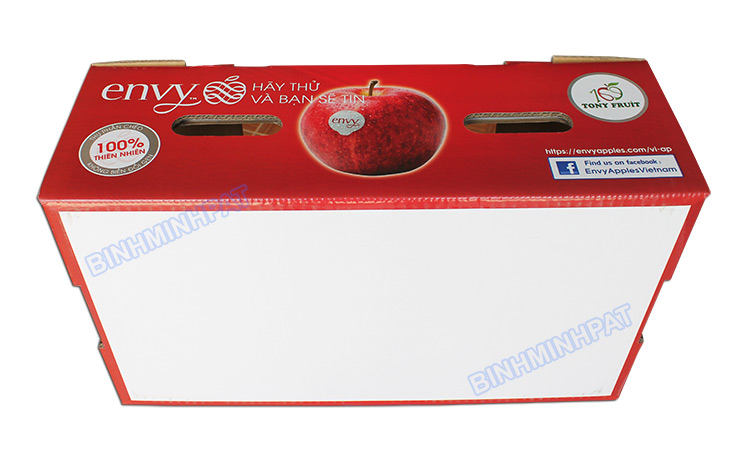 Hight quality Corrugated apple fruit packaging boxes - img04