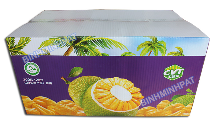 Vegetable and fresh fruit packaging boxes - img021