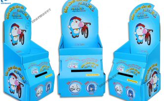 DORAEMON Paper Display Shelves for Gummy Candy - img 01