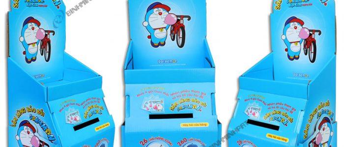 DORAEMON Paper Display Shelves for Gummy Candy - img 01