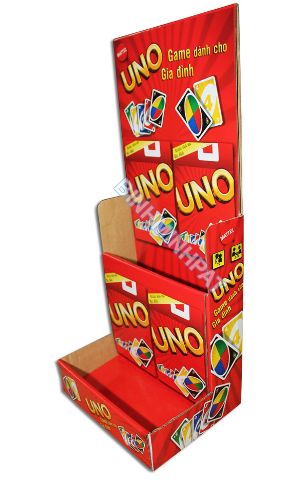 Cardboard Toy Shelf Display Stand Flooring Rack - img03
