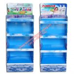 Supermarket Paper Display Shelves (Light blue Color) - img 03