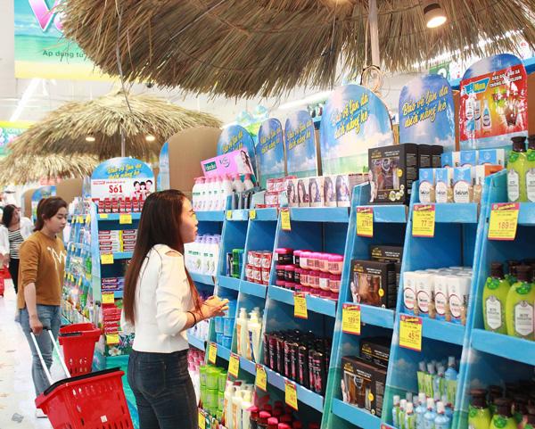 Supermarket Paper Display Shelves (Light blue Color) - img 04