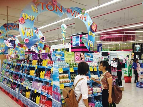 Supermarket Paper Display Shelves (Light blue Color) - img 05