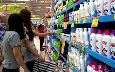 Supermarket Paper Display Shelves (Light blue Color) - img 07