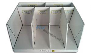 Paper Display Shelves