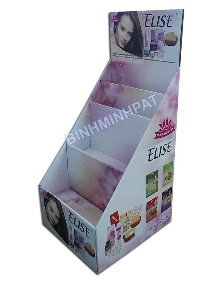 ELISE Cosmetics Paper Display Stand