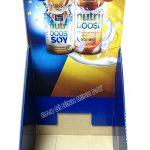 Nutri Boost Soy Display Shelf, Cardboard Milk Display Rack