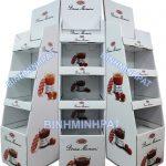 Fruit jam display shelf, Cardboard Display Shelf Stand